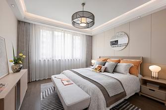 豪华型130平米四室两厅日式风格卧室图