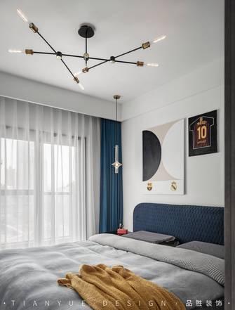 富裕型140平米四室两厅工业风风格卧室设计图