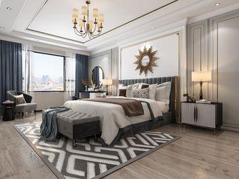 10-15万120平米三室两厅英伦风格卧室装修图片大全