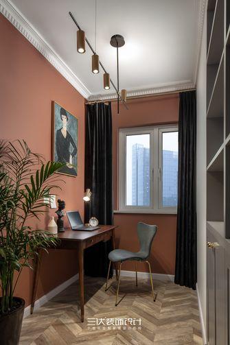 80平米三室两厅北欧风格书房欣赏图