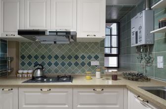 富裕型90平米田园风格厨房装修效果图