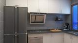 60平米公寓轻奢风格厨房效果图