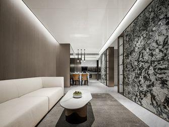 130平米三轻奢风格客厅图片大全