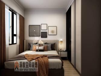 经济型90平米三室两厅轻奢风格卧室欣赏图