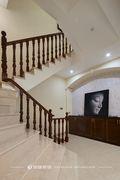 豪华型140平米别墅欧式风格楼梯间效果图