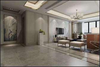 20万以上140平米三室两厅中式风格玄关装修图片大全