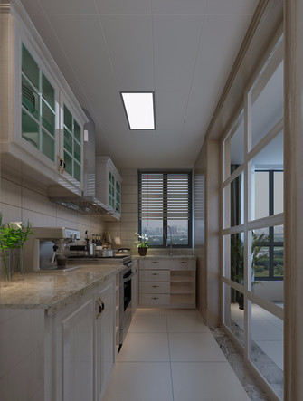 经济型130平米三室三厅公装风格客厅图片大全