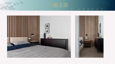 140平米复式混搭风格卧室装修图片大全