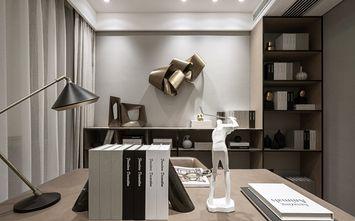 豪华型140平米三室一厅现代简约风格书房装修图片大全