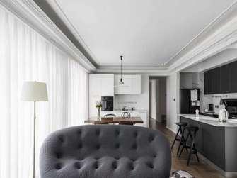 经济型140平米四室两厅法式风格客厅装修案例