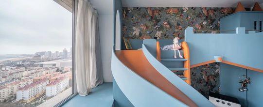 富裕型110平米三室两厅日式风格青少年房装修案例
