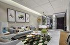 140平米三室一厅北欧风格客厅装修图片大全