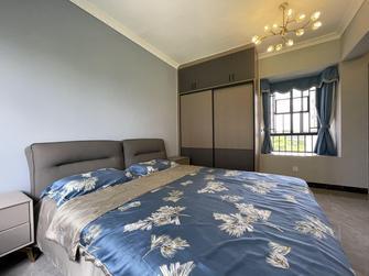 富裕型110平米三室两厅现代简约风格卧室装修效果图