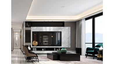 富裕型140平米复式现代简约风格客厅设计图
