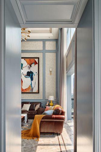 20万以上140平米复式美式风格客厅装修效果图