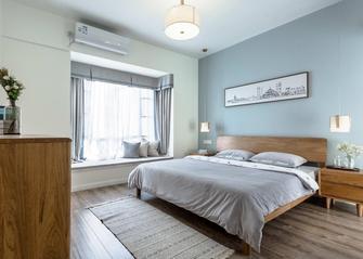 110平米三室八厅北欧风格卧室欣赏图