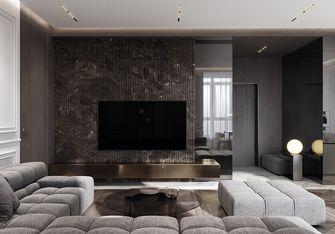 90平米一居室轻奢风格客厅图片