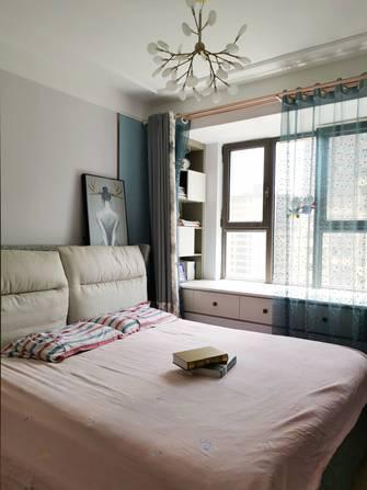 富裕型90平米三室两厅现代简约风格卧室效果图