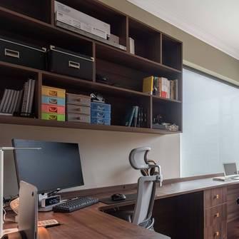 10-15万140平米三室两厅北欧风格书房装修案例