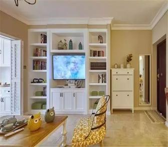 3-5万70平米法式风格客厅装修效果图