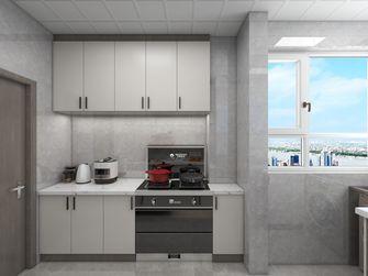 90平米轻奢风格厨房设计图