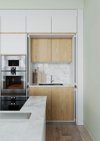 富裕型100平米四北欧风格厨房装修案例