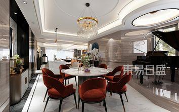 豪华型140平米别墅欧式风格餐厅图片
