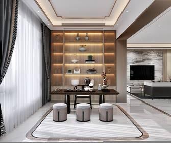 豪华型140平米三室一厅中式风格书房图片大全