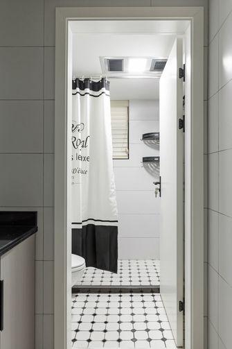 15-20万110平米三室一厅现代简约风格卫生间欣赏图