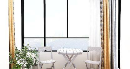 50平米小户型现代简约风格阳台欣赏图