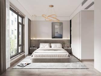 10-15万90平米三室两厅现代简约风格卧室装修图片大全