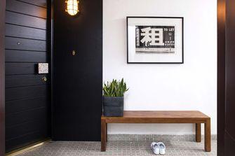 富裕型110平米三室两厅田园风格玄关设计图