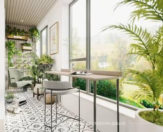 15-20万120平米三室两厅法式风格阳台图片大全
