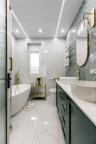 豪华型140平米别墅现代简约风格卫生间装修效果图