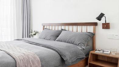 富裕型110平米三室两厅日式风格卧室图片