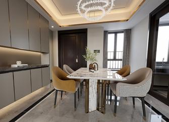 110平米三法式风格餐厅设计图