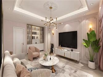 15-20万140平米四室两厅法式风格客厅设计图