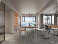 10-15万140平米三室三厅北欧风格餐厅欣赏图