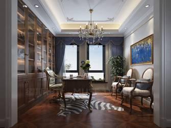 140平米别墅欧式风格书房图