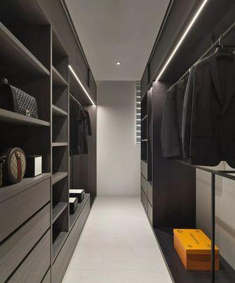 经济型140平米三室两厅现代简约风格衣帽间装修案例