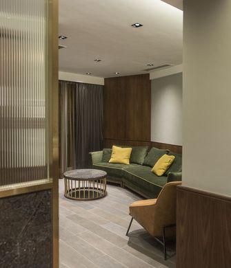 富裕型50平米一室一厅现代简约风格客厅装修图片大全