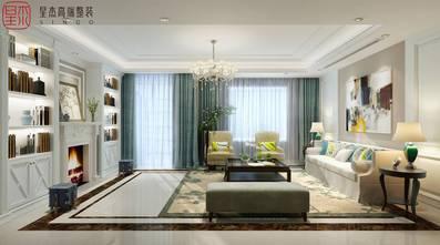 豪华型140平米别墅田园风格客厅图片大全