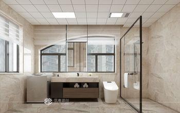 80平米三中式风格卫生间设计图