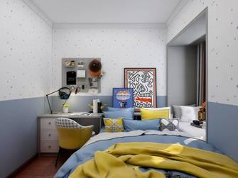 新古典风格青少年房效果图