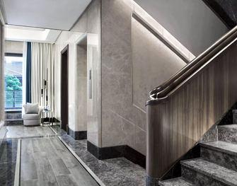 140平米中式风格楼梯间设计图