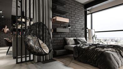 50平米一居室工业风风格卧室图片大全