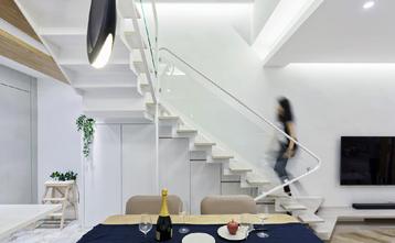 豪华型140平米三室三厅北欧风格餐厅图