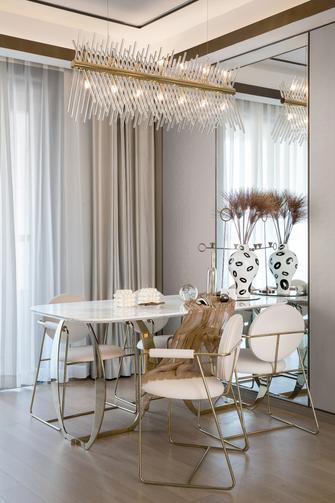 10-15万100平米三法式风格餐厅图