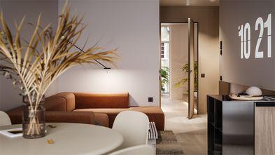豪华型70平米北欧风格客厅装修案例