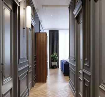 5-10万80平米三室两厅北欧风格玄关设计图